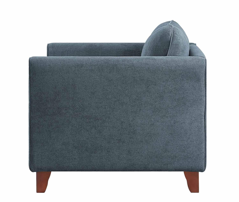 Homelegance Barberton Chair - Dark gray