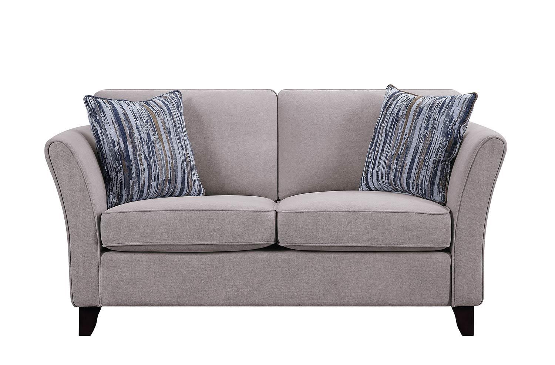 Homelegance Barberton Love Seat - Mushroom
