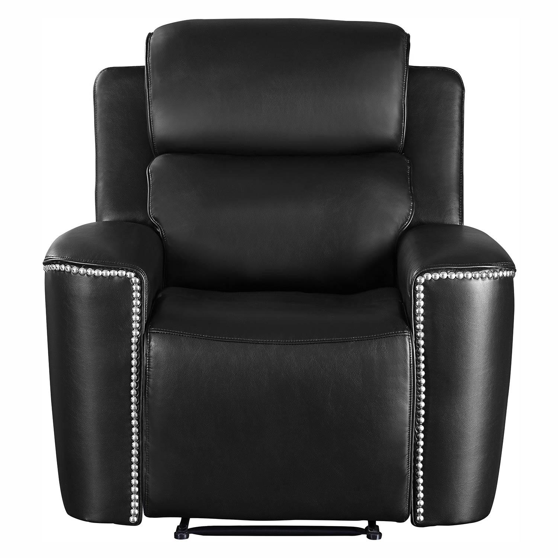 Homelegance Altair Reclining Chair - Black