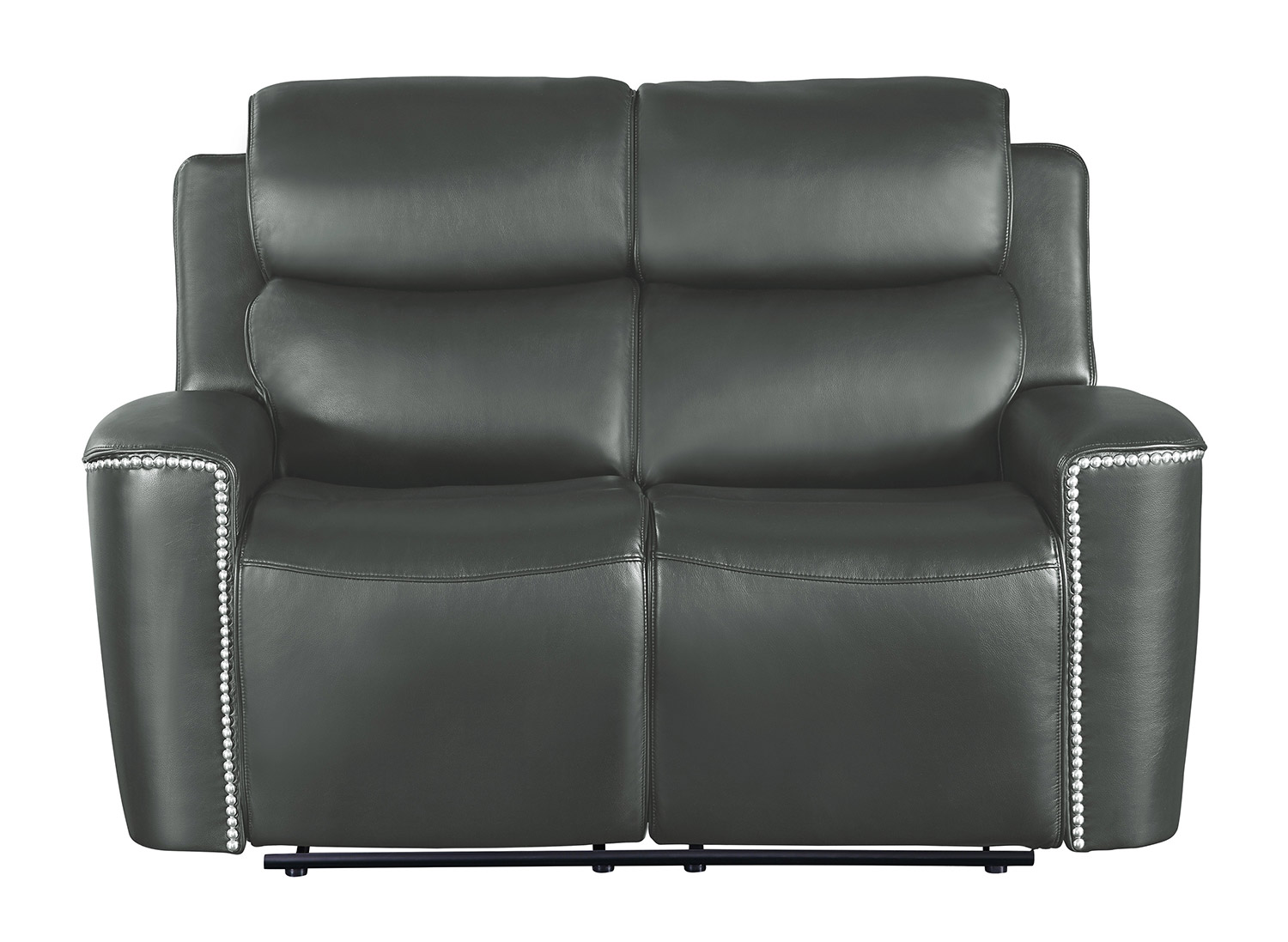 Homelegance Altair Double Reclining Love Seat Gray