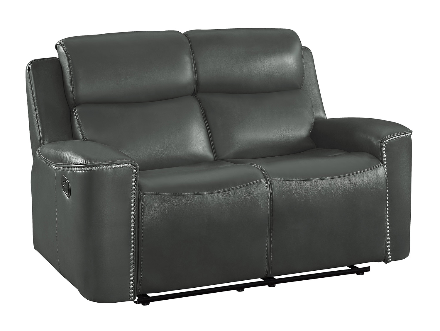 Homelegance Altair Double Reclining Love Seat - Gray