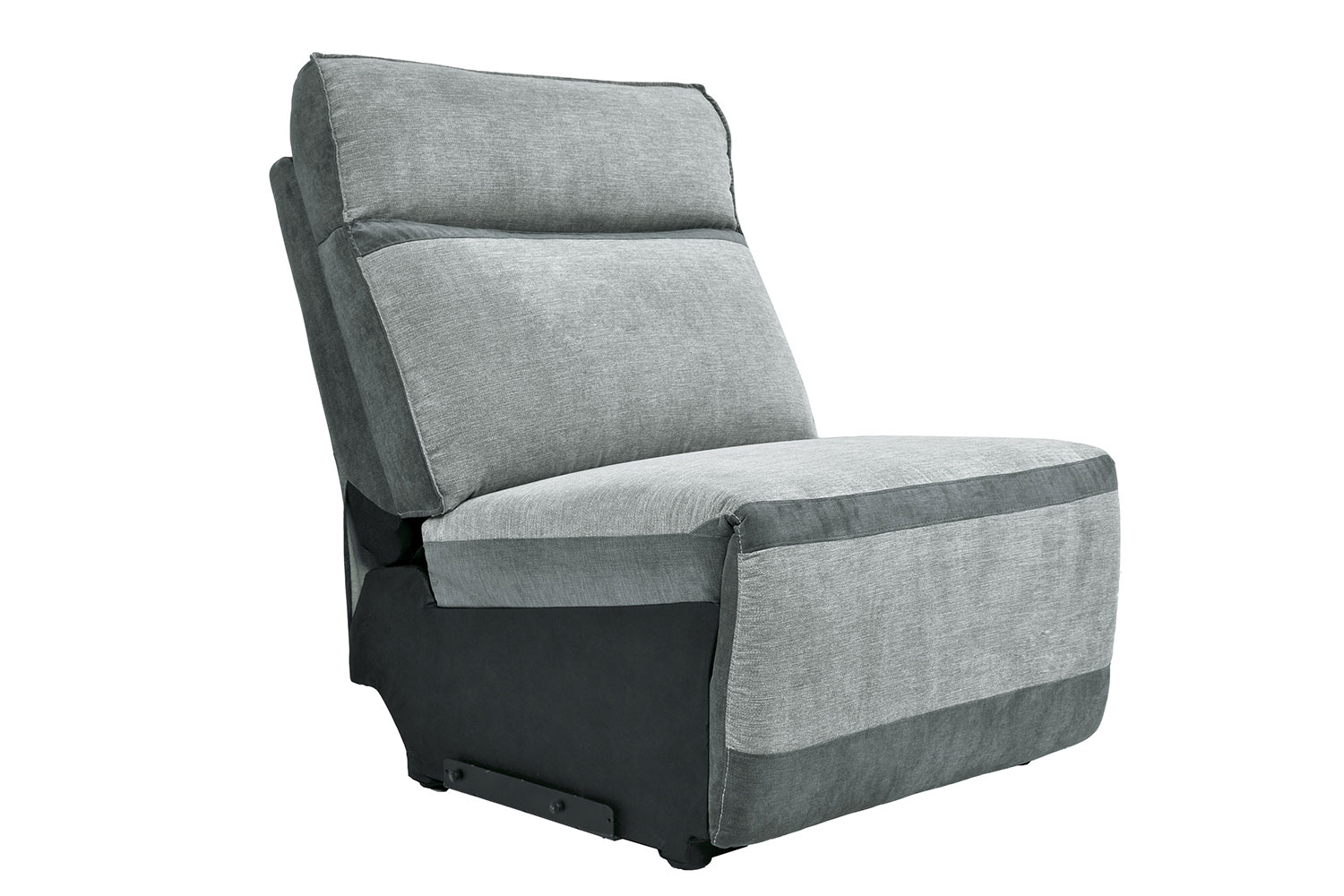 Homelegance Hedera Armless Chair - Gray