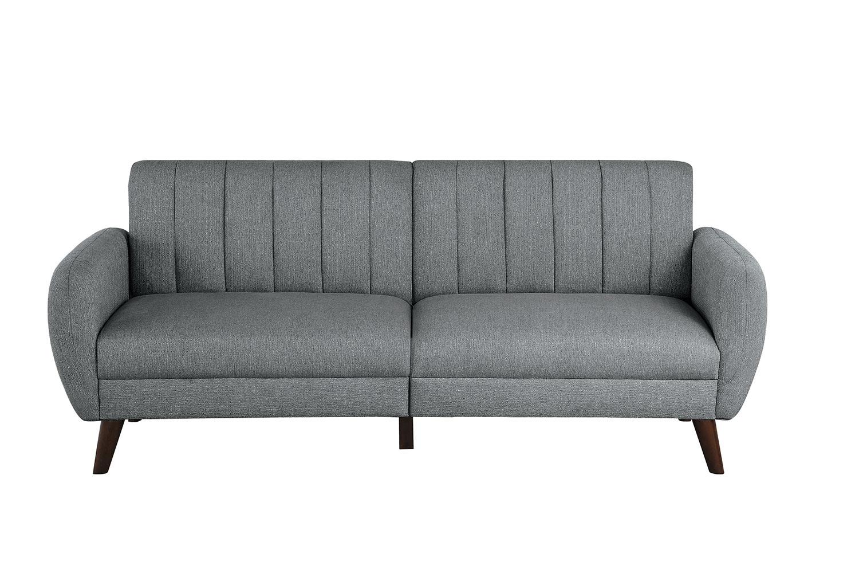 Homelegance Gabi Click Clack Sofa - Gray