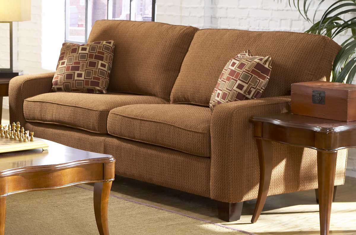 Homelegance newbury chenille sofa collection u9837cn Chenille sofa and loveseat