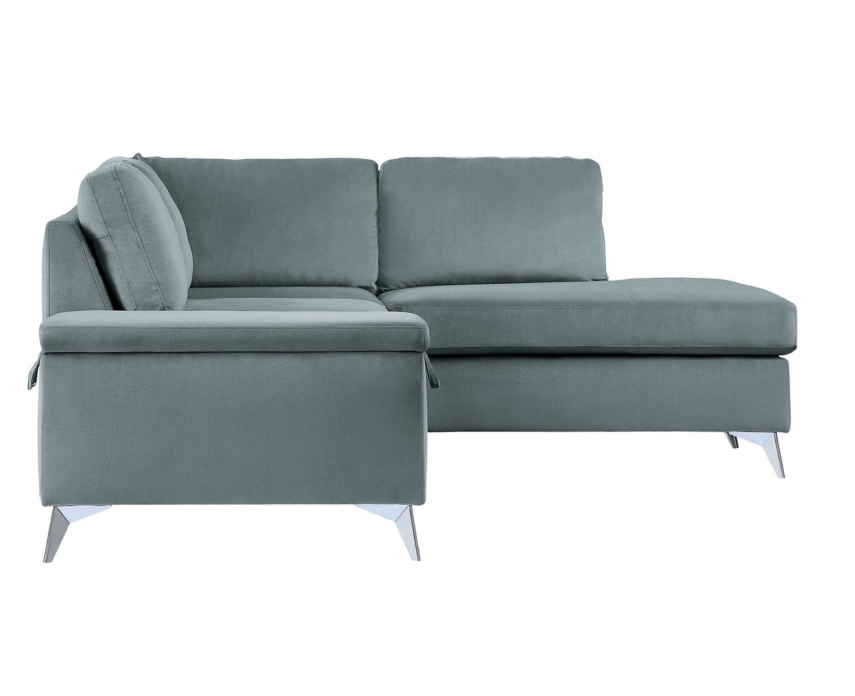 Homelegance Radnor Sectional Sofa Set - Gray