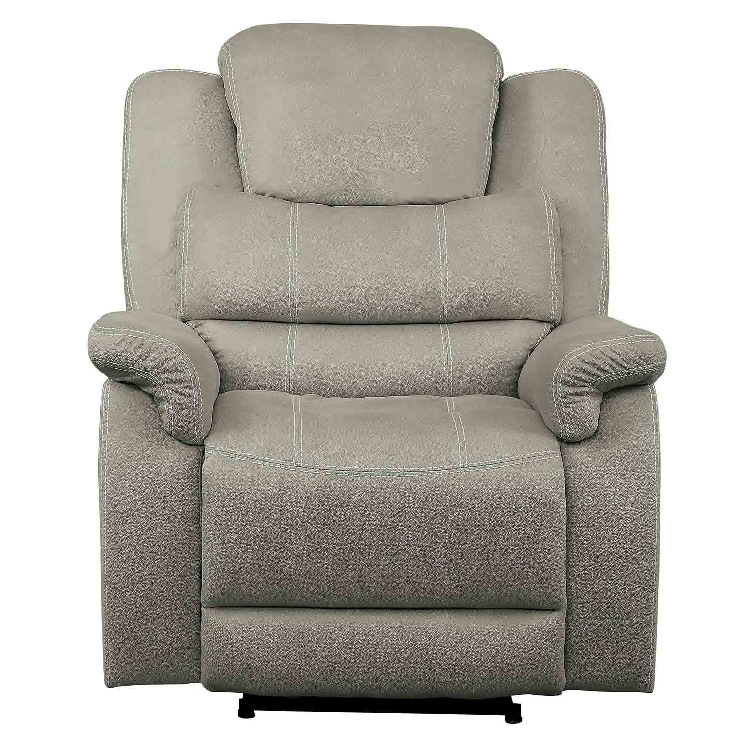 Homelegance Shola Glider Reclining Chair - Gray