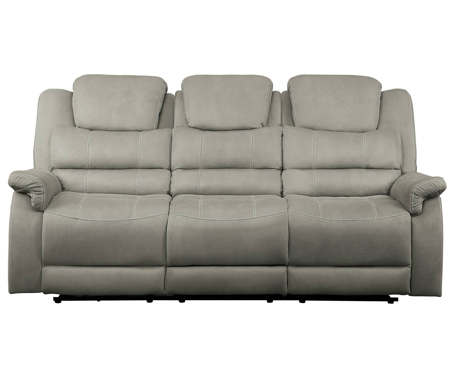 Homelegance Shola Power Reclining Sofa Set - Gray