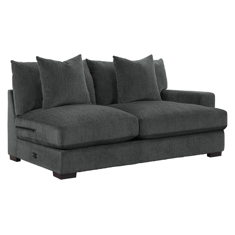 Homelegance Worchester Right Side 2-Seater - Dark gray