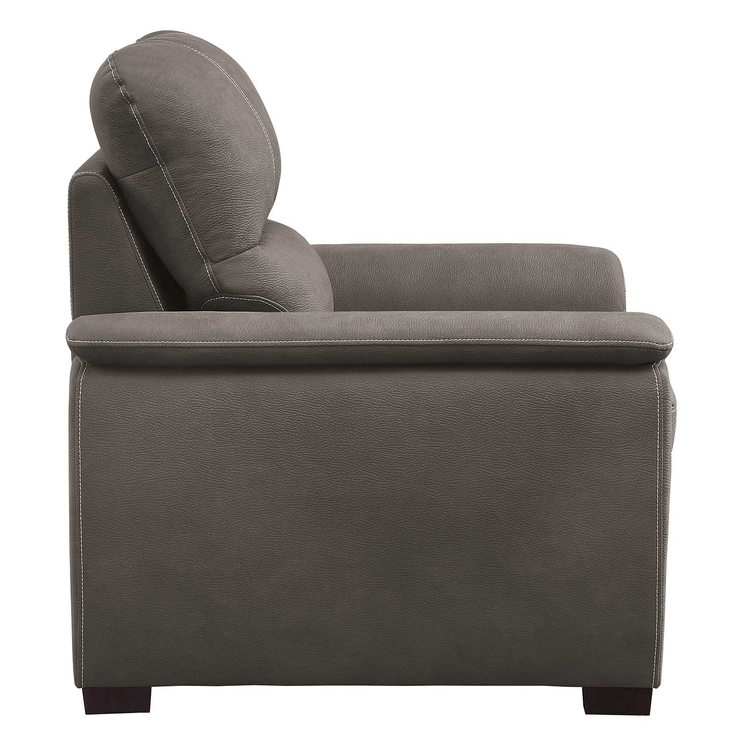 Homelegance Andes Chair with Pull-out Ottoman - Taupe