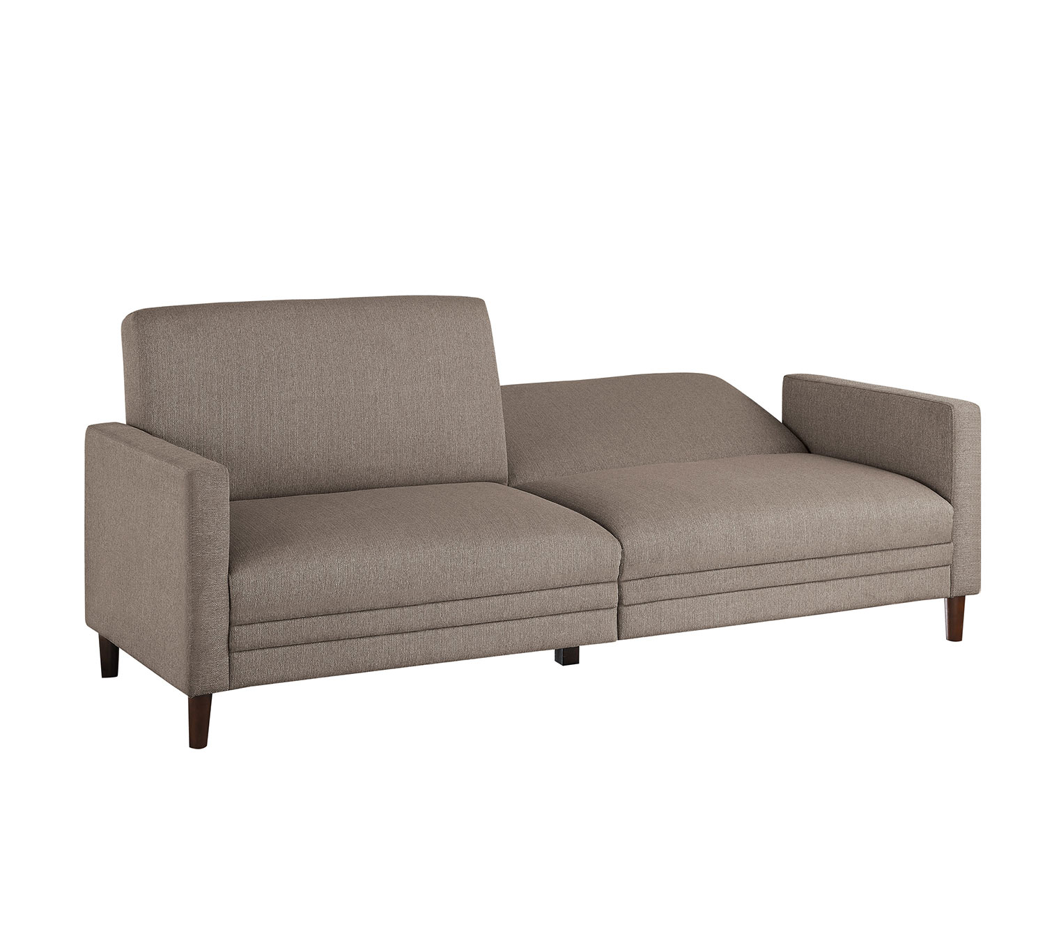 Homelegance Layanna Click Clack Sofa - Brown