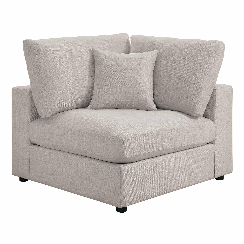 Homelegance Casoria Corner Seat - Neutral