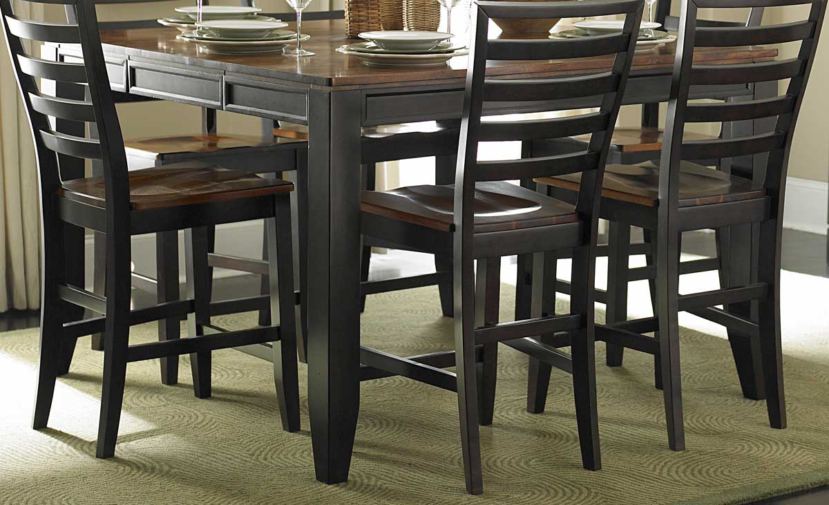 homelegance adrienne lynn counter height dining table - Kitchen Table Height