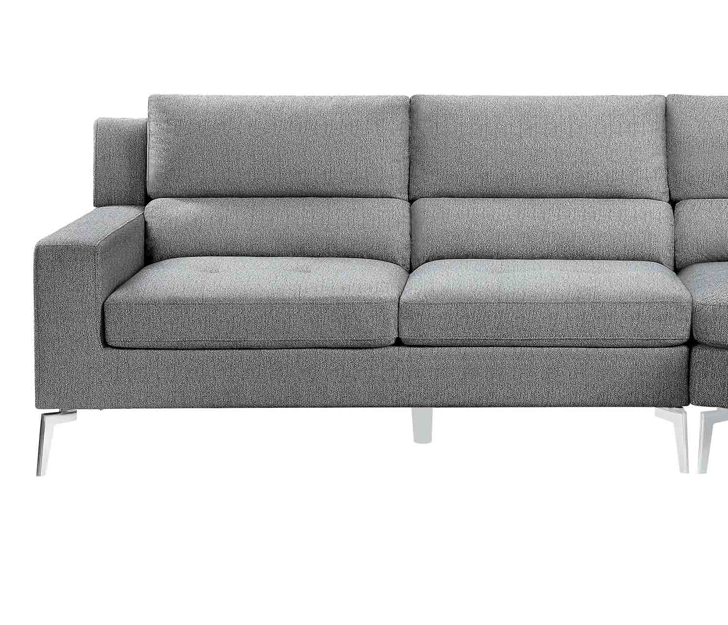 Homelegance Bonita Left Side 2-Seater - Gray