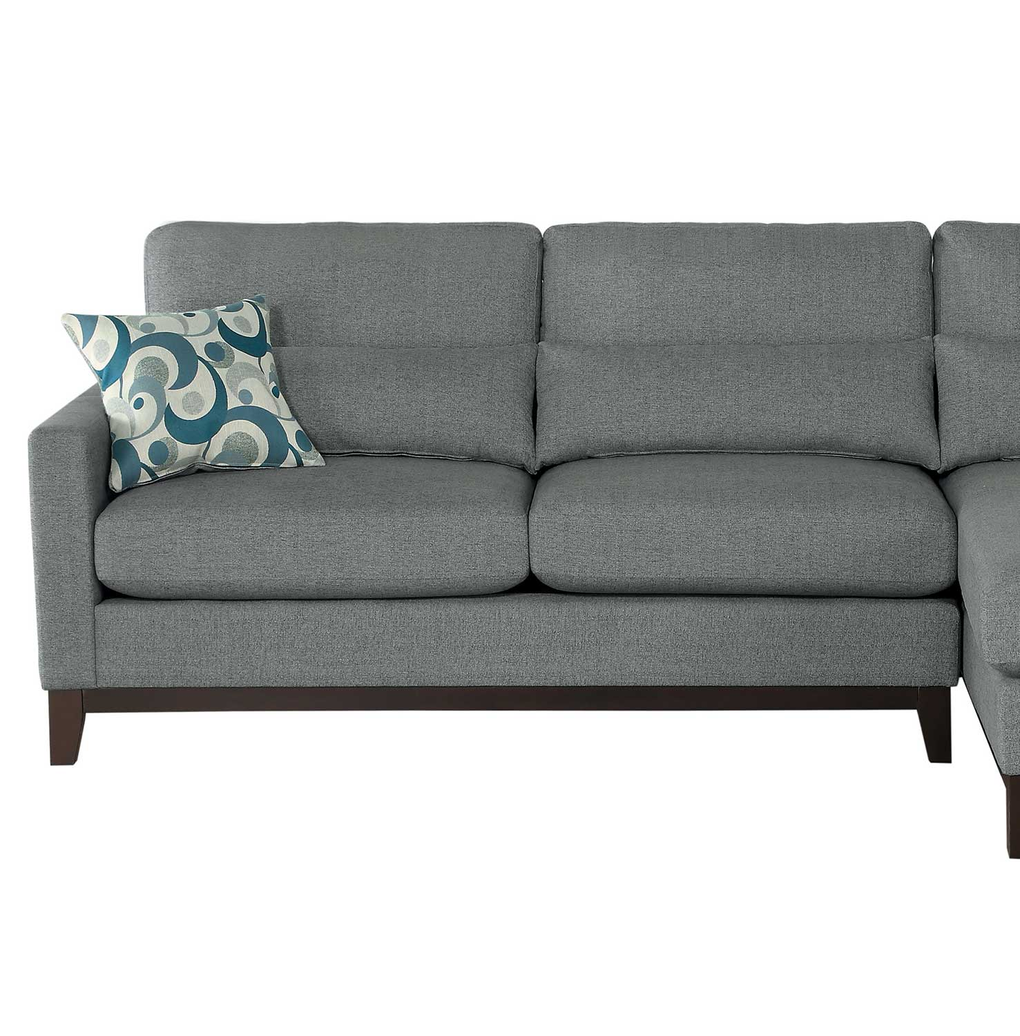 Homelegance Greerman Left Side 2-Seater - Gray