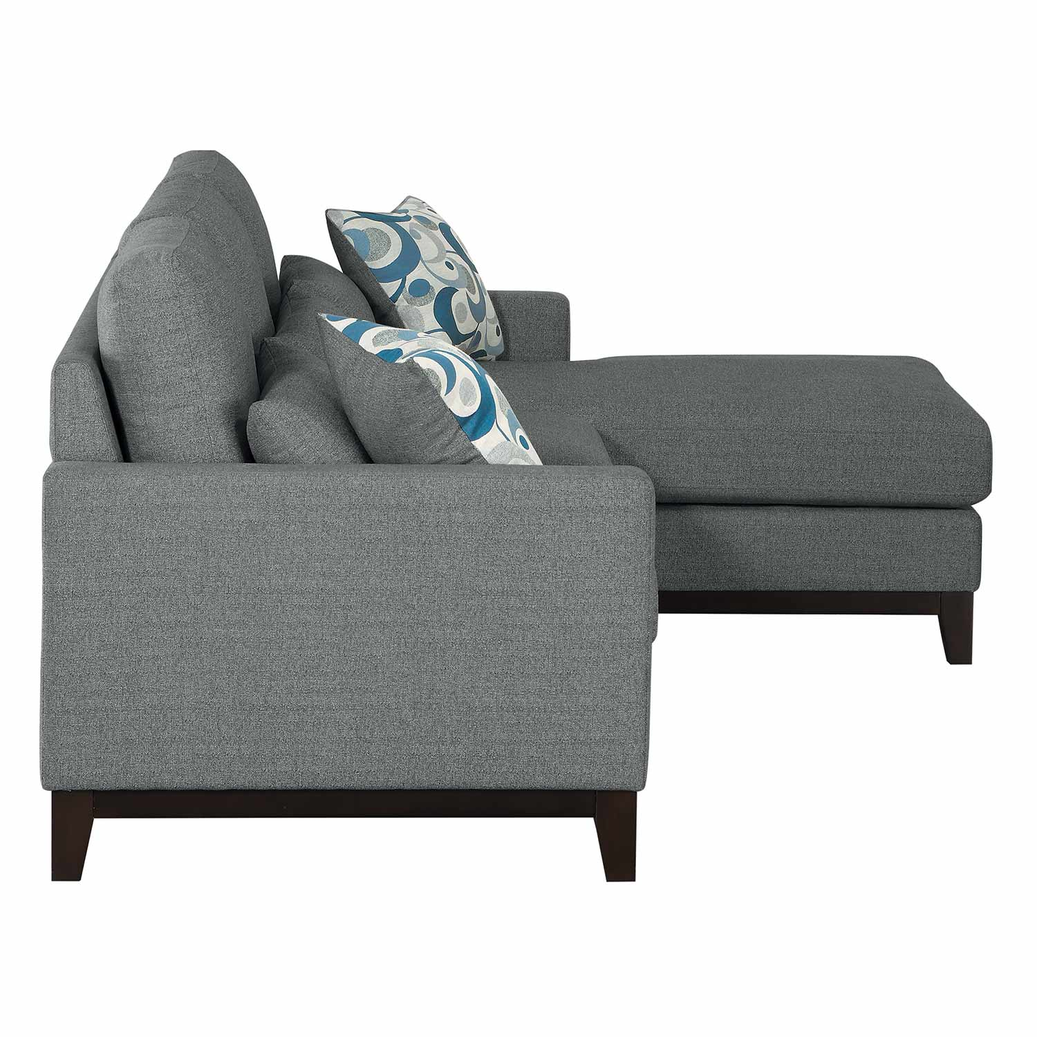 Homelegance Greerman Sectional Sofa Set - Gray