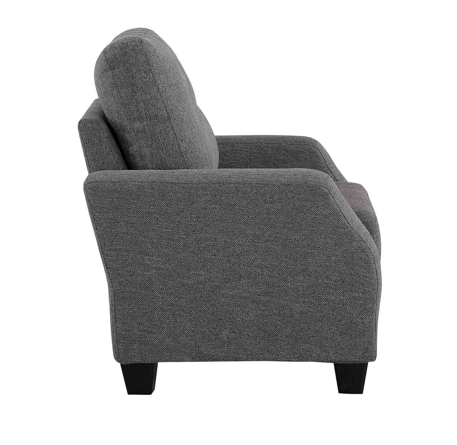 Homelegance Vossel Chair - Gray