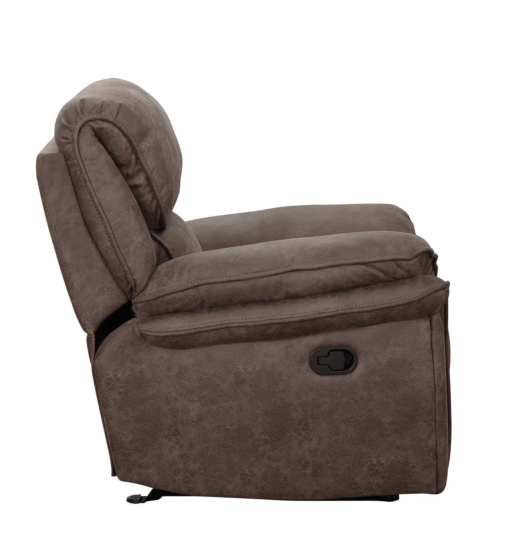 Homelegance Hadden Power Reclining Chair - Dark Brown