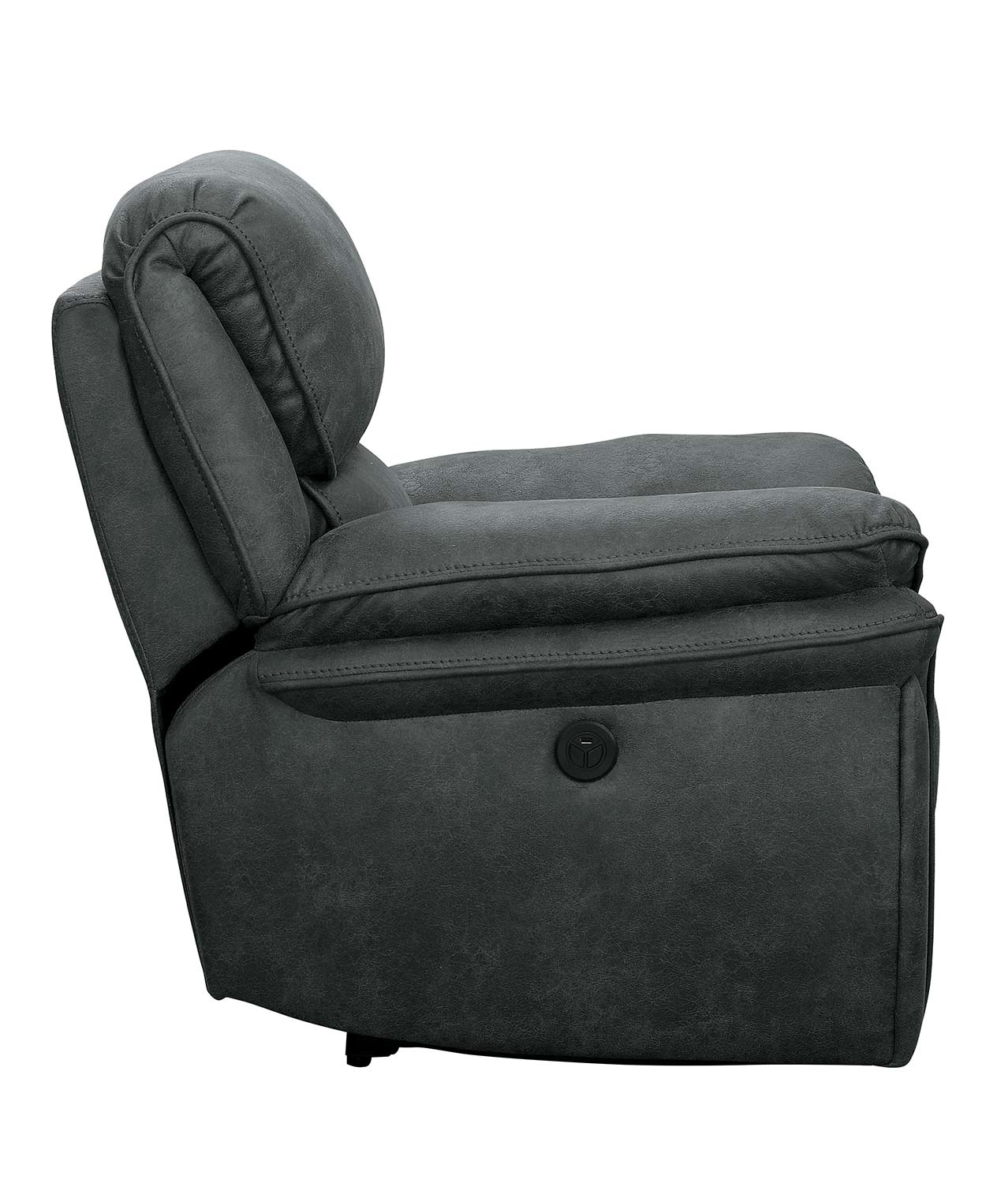 Homelegance Hadden Power Reclining Chair - Gray