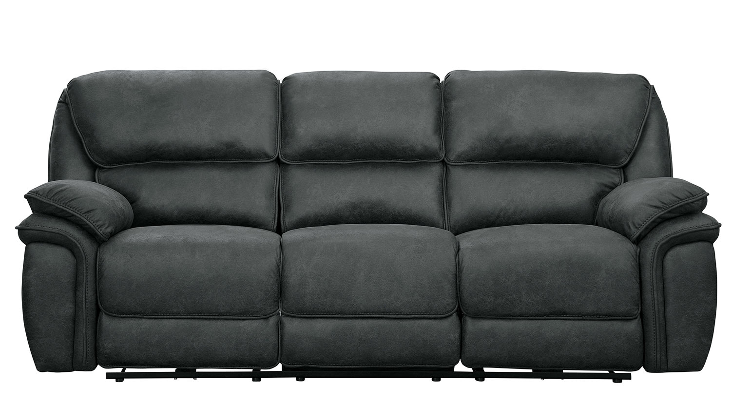 Homelegance Hadden Reclining Sofa Set - Gray