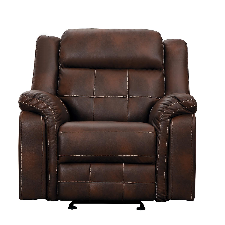 Homelegance Keridge Glider Reclining Chair - Brown