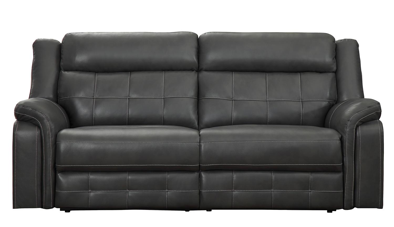 Homelegance Keridge Double Reclining Sofa - Gray AireHyde
