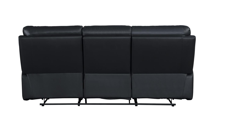 Homelegance Resonance Double Reclining Sofa - Dark Gray