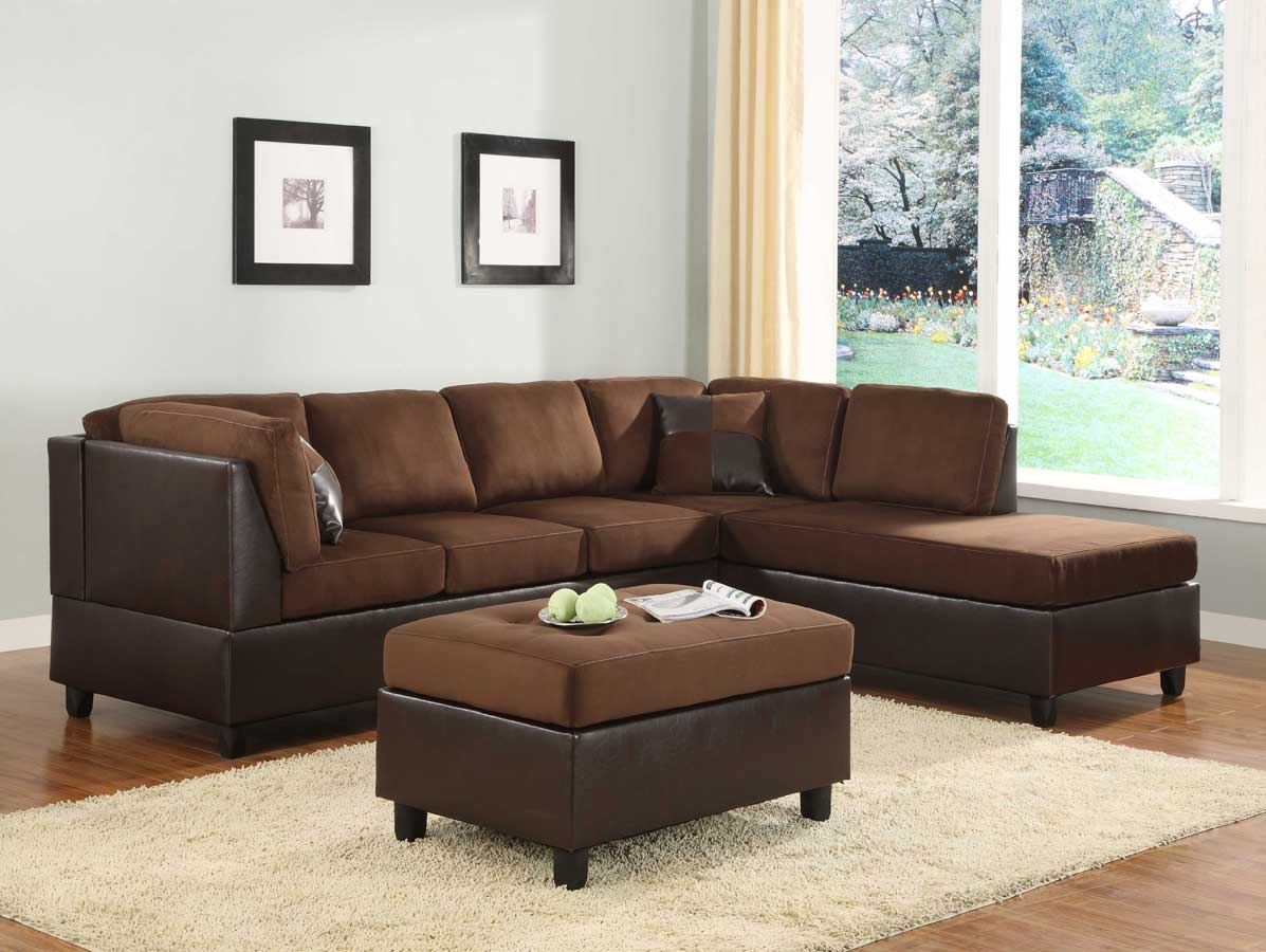 Homelegance Comfort Living Seating Collection Chocolate Finish