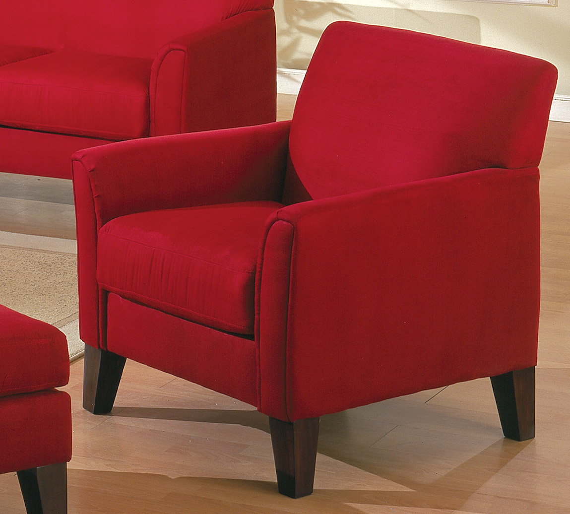homelegance petite chair red 9913rd 1 homelegancefurnitureonline com rh homelegancefurnitureonline com red sofa chair for sale red sofa chair set