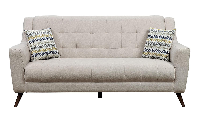 Homelegance Basenji Sofa - Beige