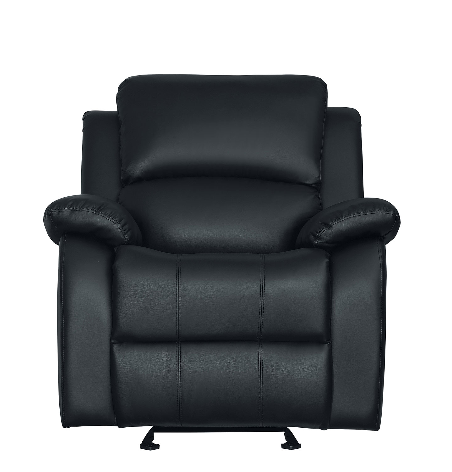 Homelegance Clarkdale Glider Reclining Chair - Black