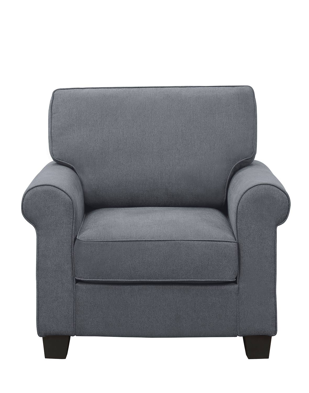 Homelegance Selkirk Chair - Gray