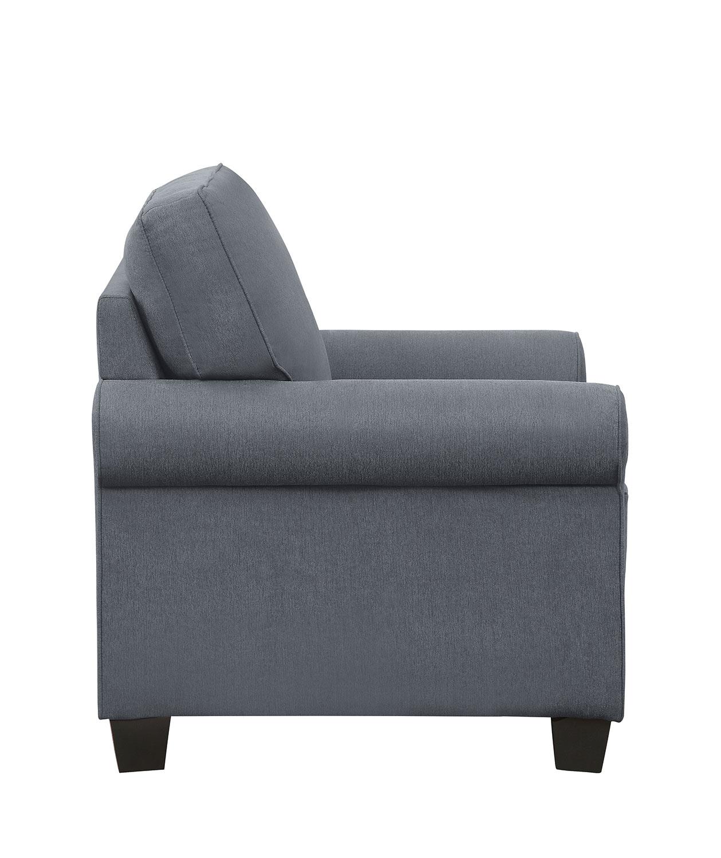 Homelegance Selkirk Chair - Gray