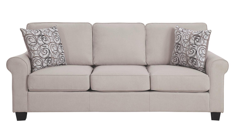 Homelegance Selkirk Sofa - Sand Fabric
