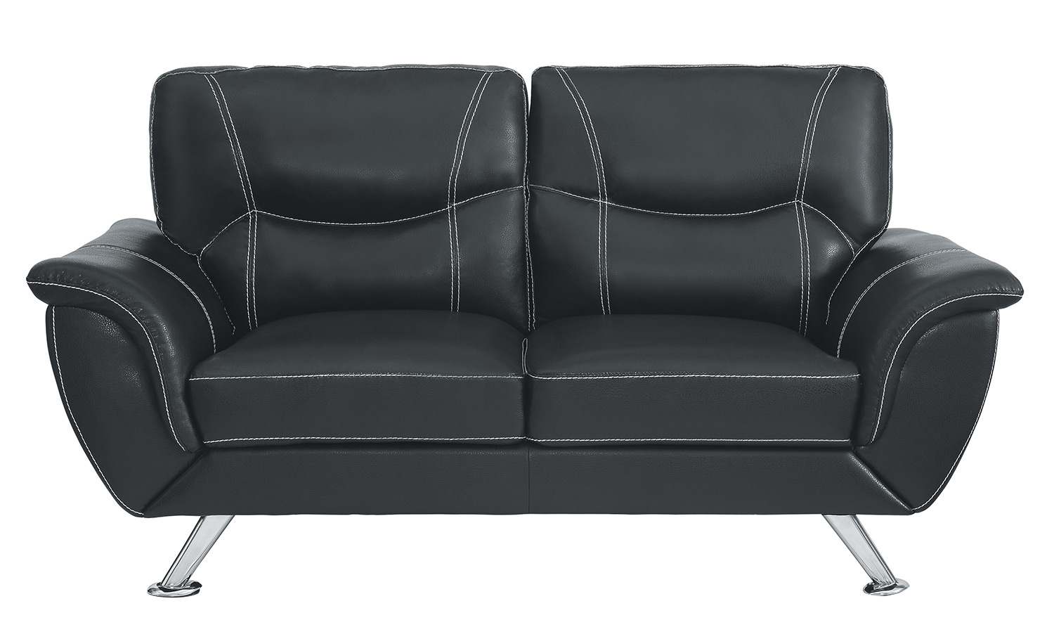 Homelegance Jambul Love Seat - Black