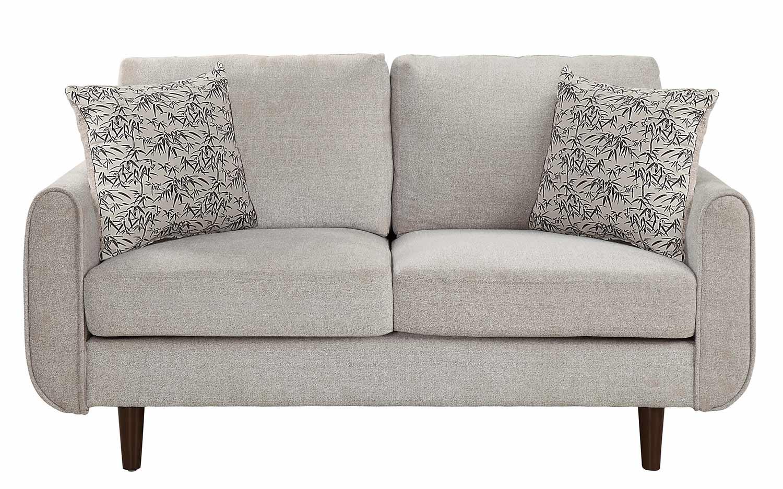 Homelegance Wrasse Love Seat - Sand Fabric