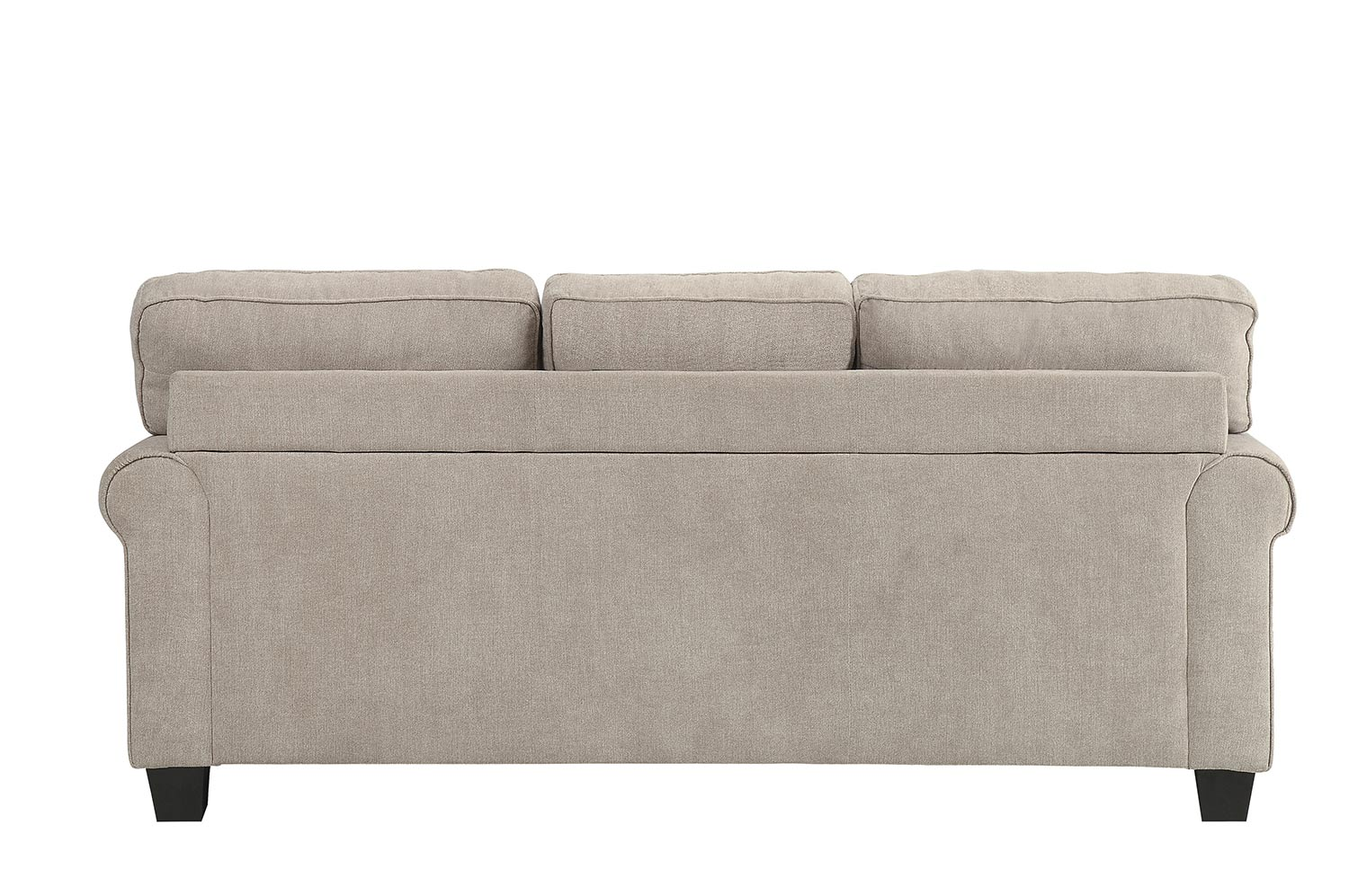Homelegance Clumber Reversible Sofa Chaise Sectional - Sand