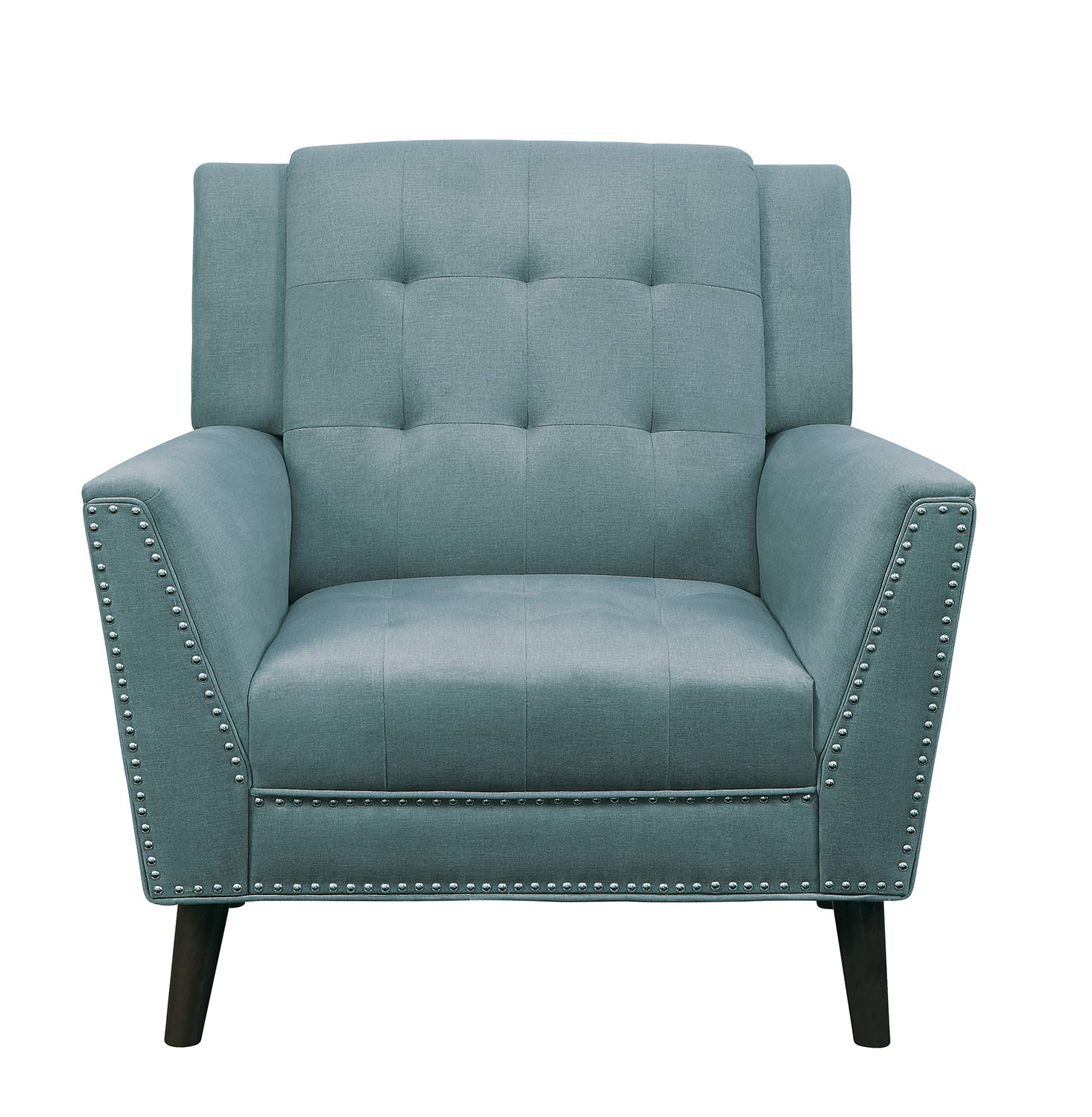 Homelegance Broadview Chair - Fog gray