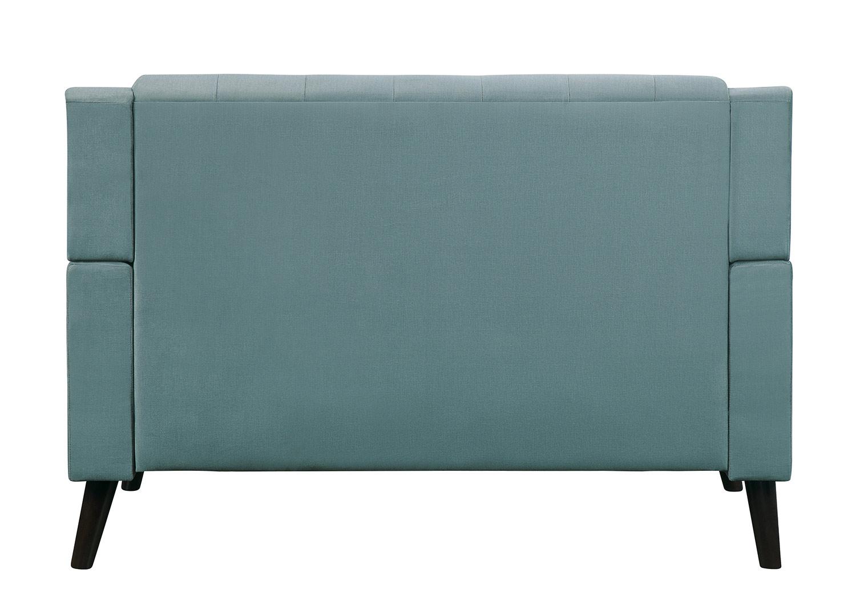 Homelegance Broadview Love Seat - Fog gray