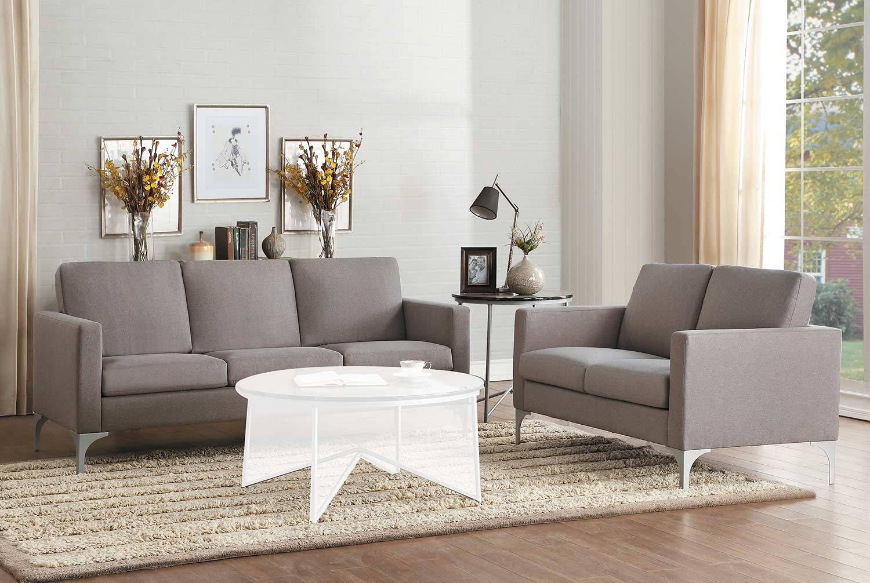 Homelegance Soho Sofa Set - Brownish Gray