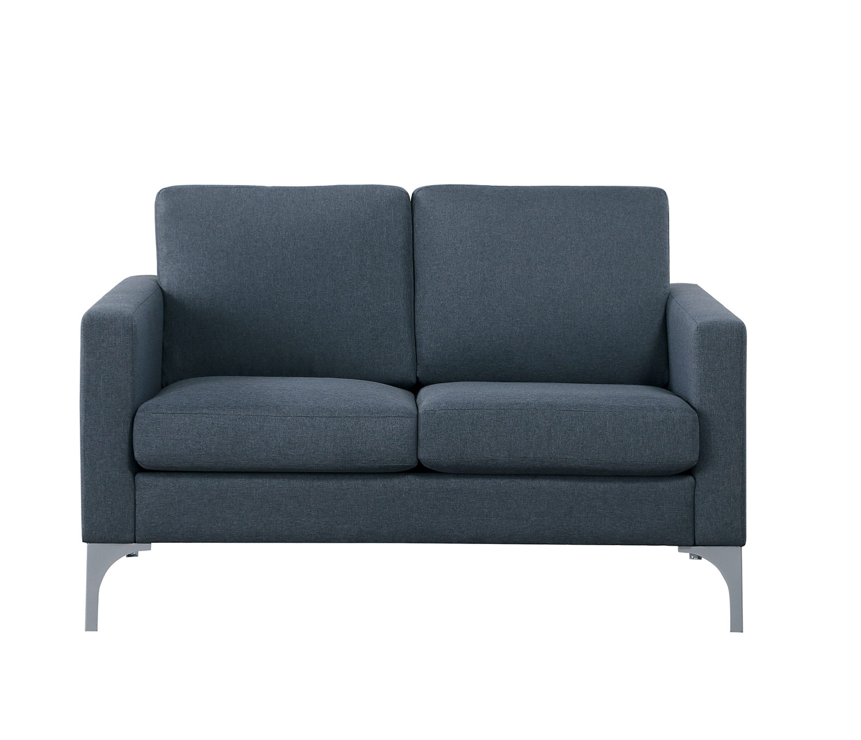 Homelegance Soho Love Seat - Dark Gray - Brownish Gray