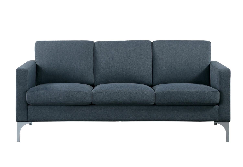 Homelegance Soho Sofa - Dark Gray - Brownish Gray