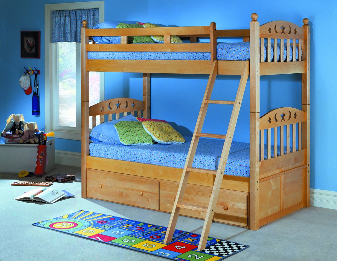 Homelegance Birch Bunk Bed B16 Homelegancefurnitureonline Com