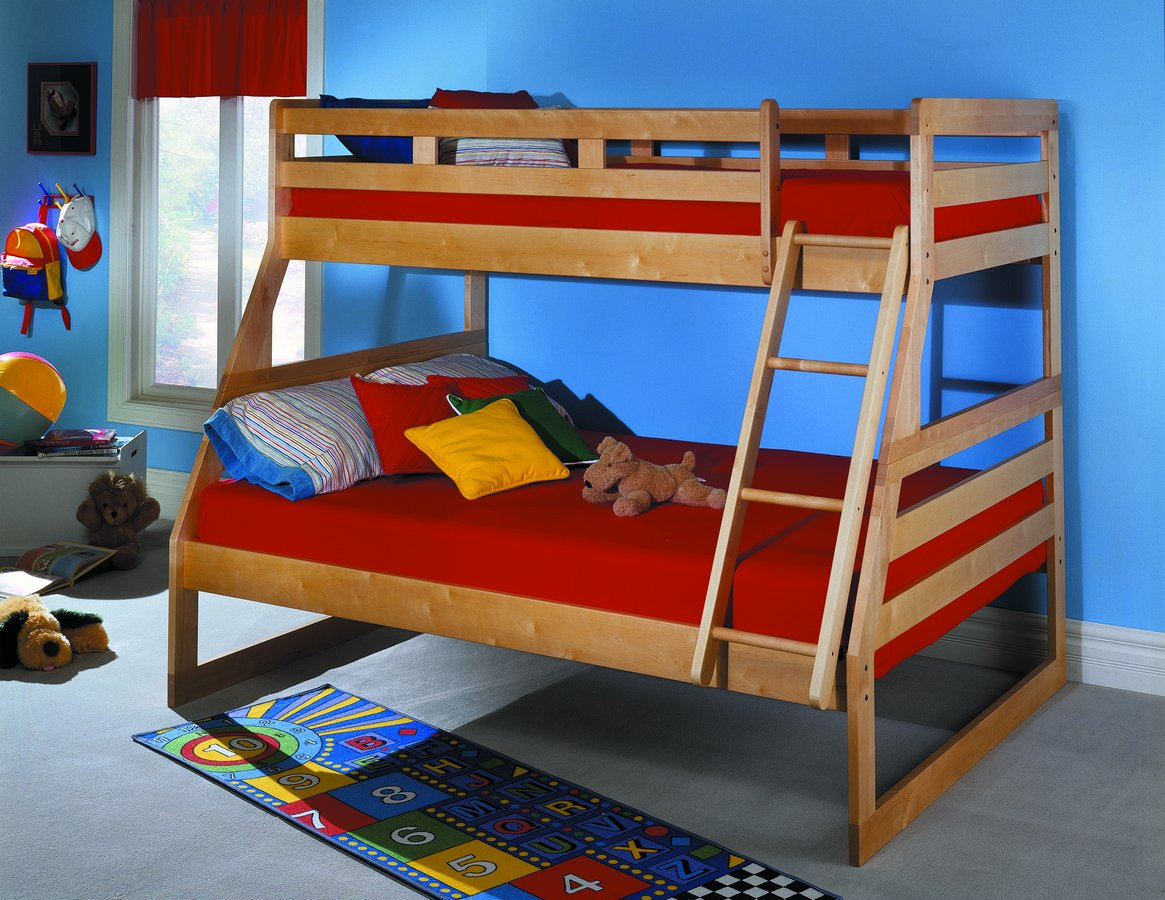 Homelegance Solid Birch Bunk Bed B18 Homelegancefurnitureonline Com