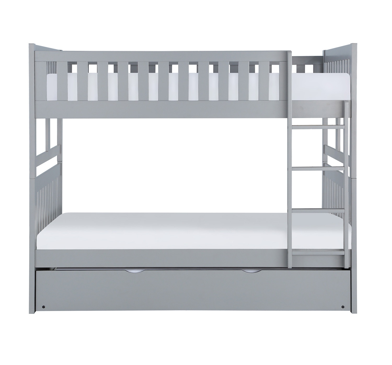Homelegance Orion Full Over Full Bunk Bed - Gray