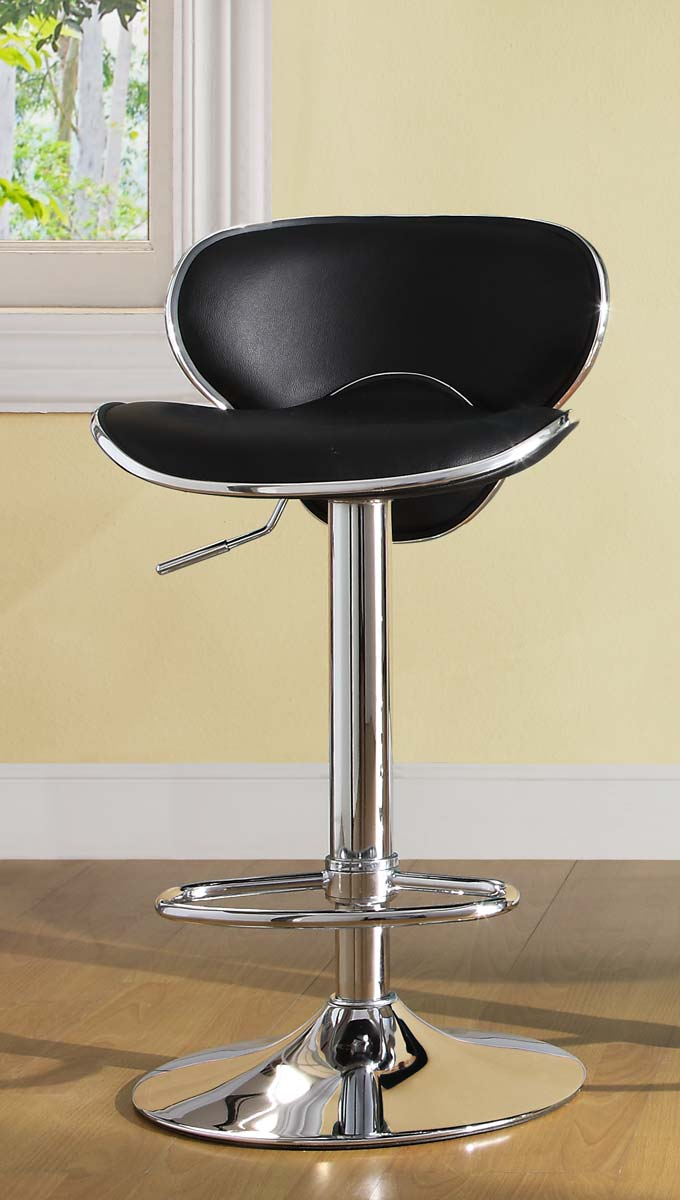 Homelegance 1156BLK Ride Swivel Stool - Black