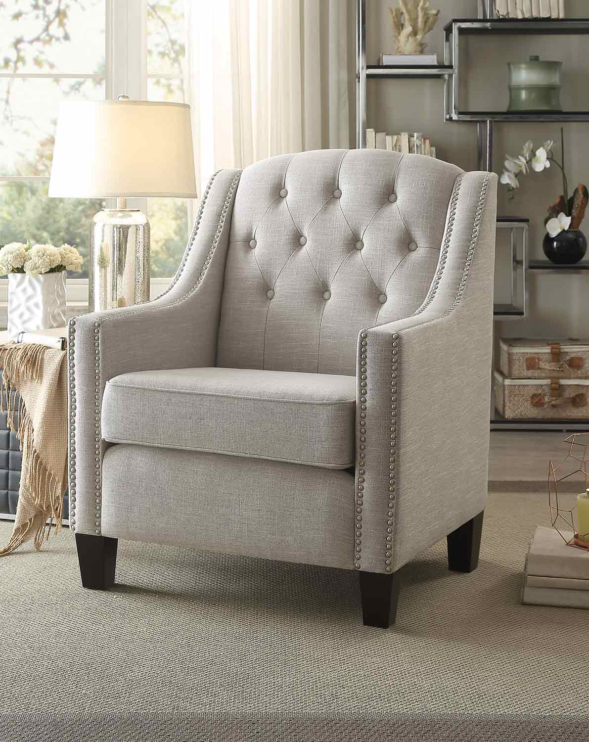Homelegance Harmony Accent Chair - Neutral Beige