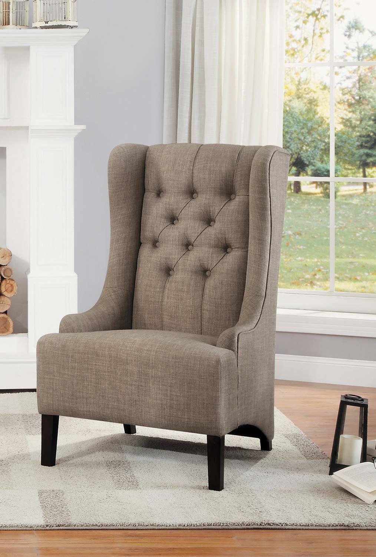 Homelegance Devon Accent Chair - Brown