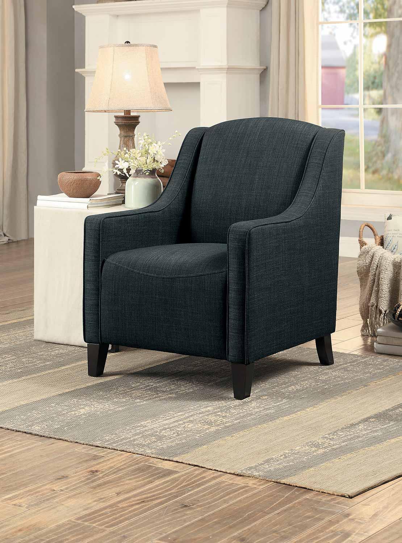 Homelegance Semplice Accent Chair - Dark Gray