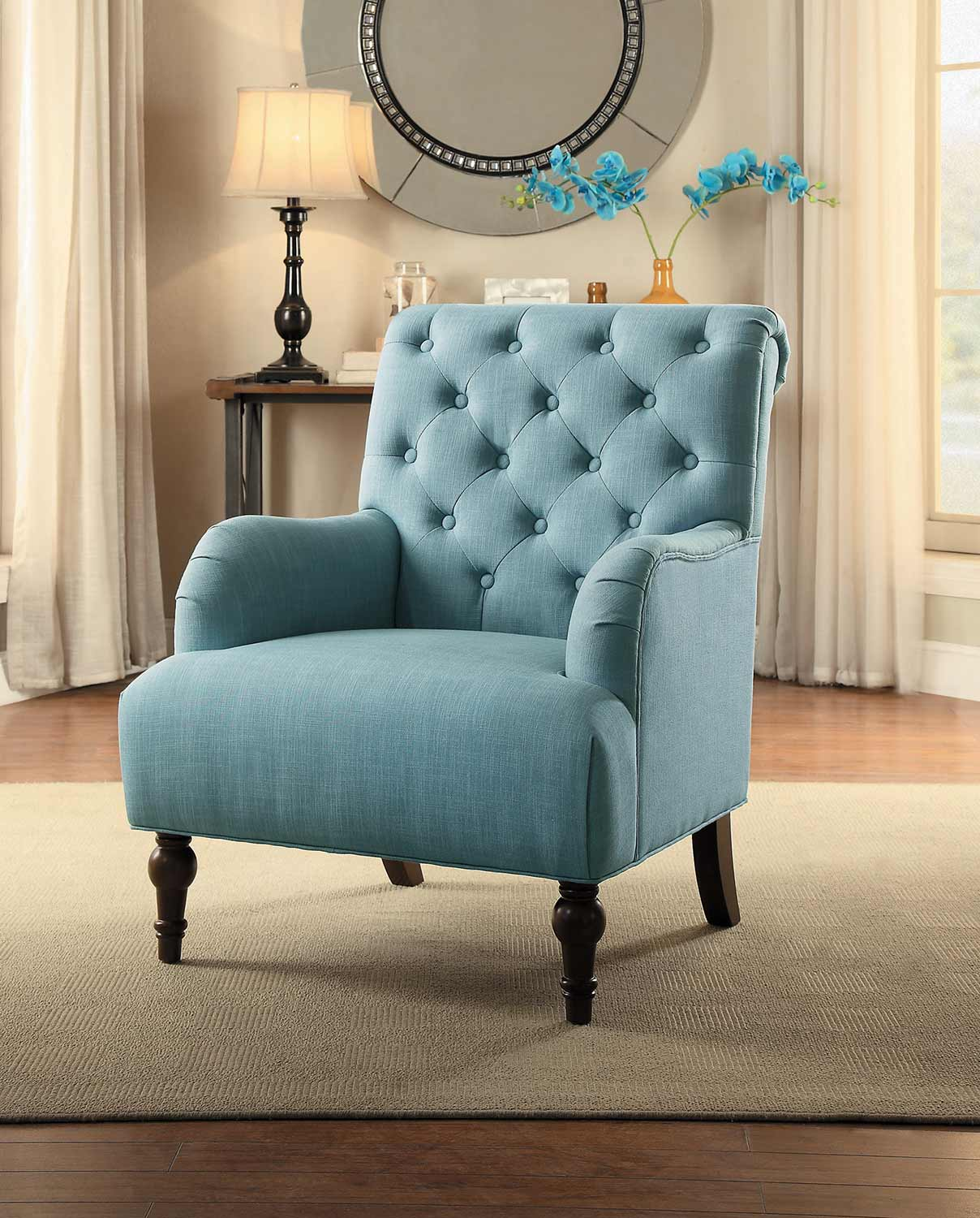Homelegance Cotswold Accent Chair - Blue