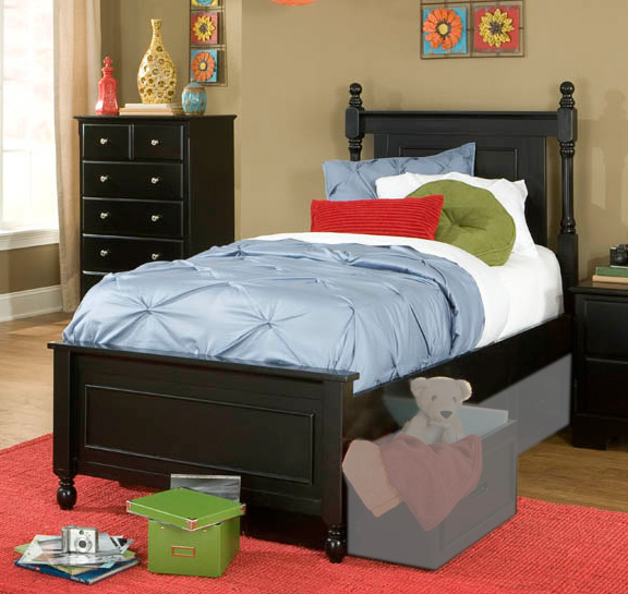 Homelegance Morelle Captain's Bed - Black